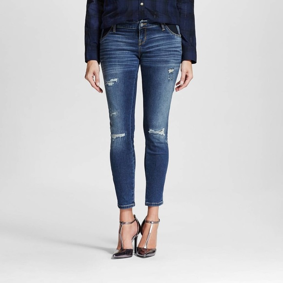 Liz Lange for Target Denim - 2 pair, Liz Lange Maternity Distressed Blue Jeans